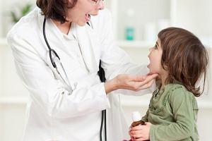 Zapalenie krtani u dziecka - interwencja lekarza konieczna
