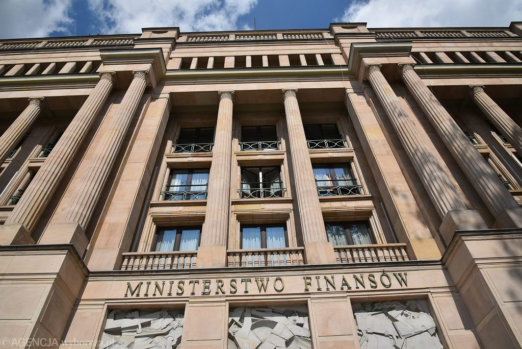 Ministerstwo finansów w Warszawie, 3 sierpnia 2016