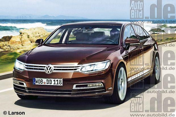 Nowy Volkswagen Phaeton