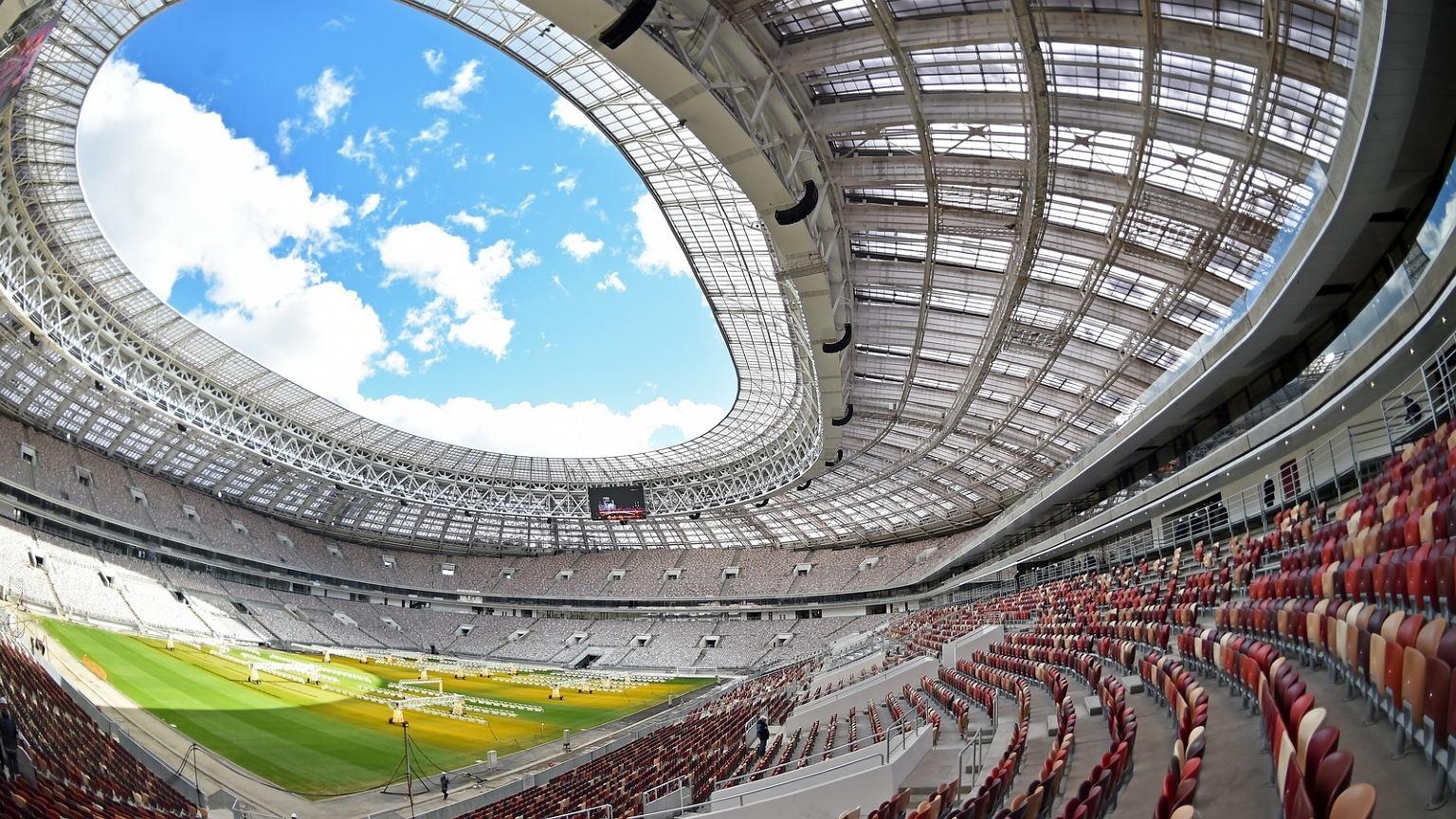Mistrostwa świata w piłce nożnej 2018 rozpoczną się meczem na stadionie Łużniki w Moskwie