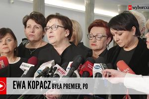 Posłanki PO solidarne z nauczycielkami z Zabrza