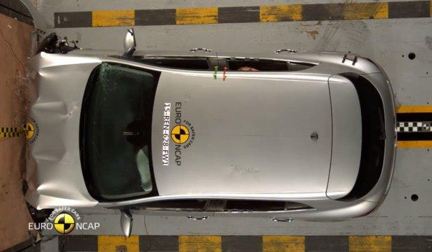 Renault Megane testy Euro NCAP