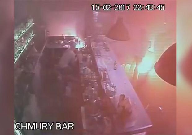 Demolka w klubie Chmury