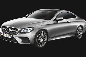 Mercedes E Coupe | Pierwsze wizualizacje