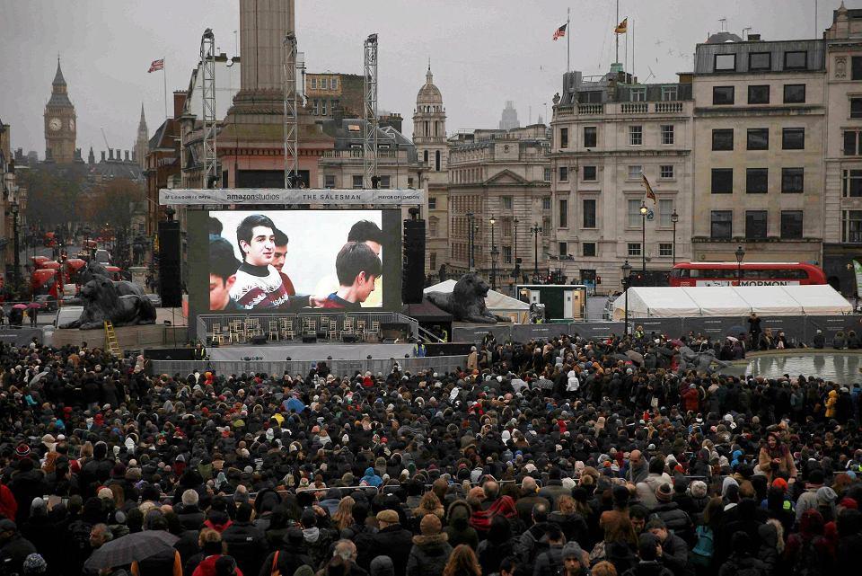 Zdjęcie numer 1 w galerii - Oscary 2017: Londyn solidarny z Farhadim przeciw Trumpowi. Wielka premiera
