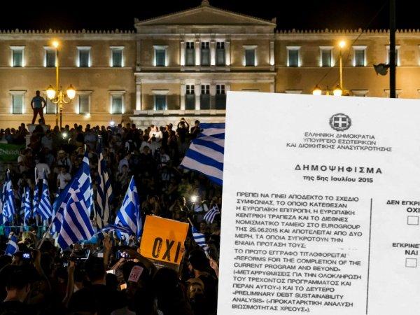 """Grecy powiedzieli """"stop"""" dalszej polityce zaciskania pasa [PIĘĆ PUNKTÓW O REFERENDUM]"""