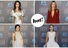 Angelina Jolie i Jennifer Aniston pierwszy raz od lat na tej samej imprezie! Angie postawi�a na elegancj�, a Jen na seksapil. Inne gwiazdy, jak Cotillard, Witherspoon, Knightley czy Chastain, wyst�pi�y w sukniach wieczorowych