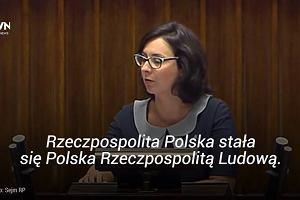"""Kamila Gasiuk-Pihowicz: """"22 lipca 2016 roku Rzeczpospolita sta�a si� autorytarnym pa�stwem PiS"""""""