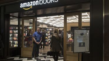 Księgarnia Amazona w Nowym Jorku.
