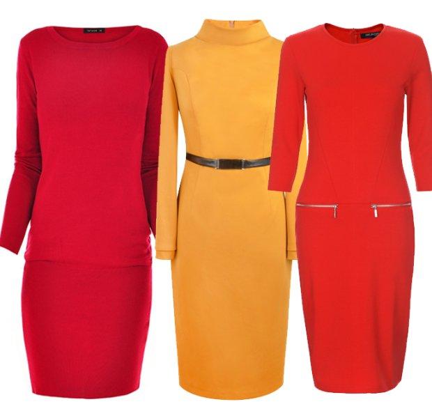 18b2699493 Dzianinowe sukienki  ciepłe i modne propozycje na jesień