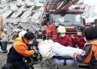 Tajwan: Liczba ofiar trzęsienia ziemi wzrosła do 23