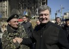 Poroszenko: Trzeba wykorzysta� zachwyt Unii m�stwem Ukrai�c�w. Mo�emy przyst�pi� do UE w 2025 roku