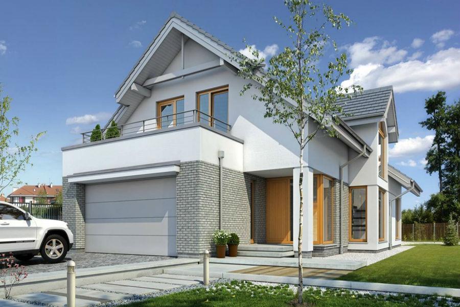 Ładny dom, czyli elewacja ścian