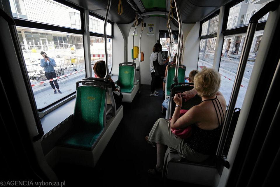 Od poniedziałku tramwaje jeżdżą przez ul. Święty Marcin