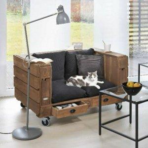 Sofa z europalety