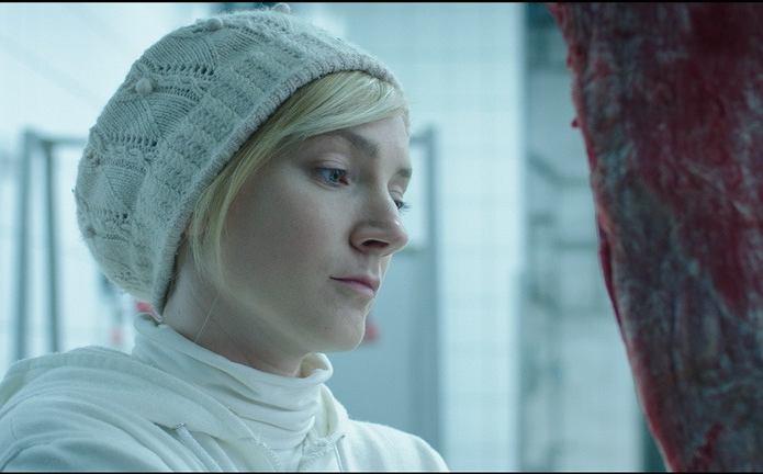 'Dusza i ciało'. Alexandra Borbély jako Mária