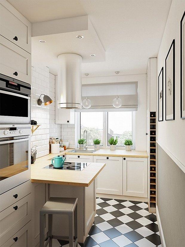 Mała kuchnia w bloku pełna dobrych rozwiązań 12   -> Kuchnia W Bloku Jak Urzadzic