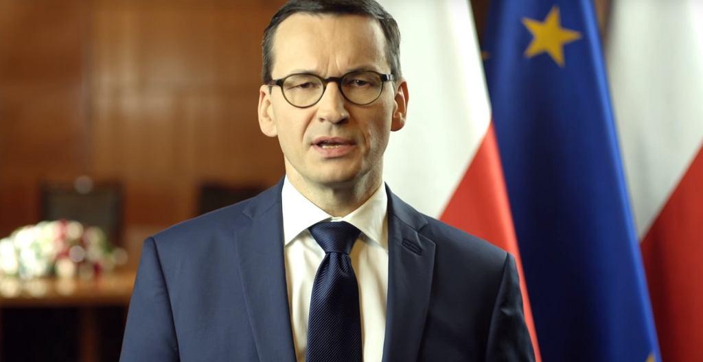 Mateusz Morawiecki o zbrodniach na Żydach i Polakach