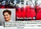 Aborcja przez zaniechanie i protokół zniszczenia plemników - najlepsze wpisy na oficjalnym profilu Beaty Szydło na FB