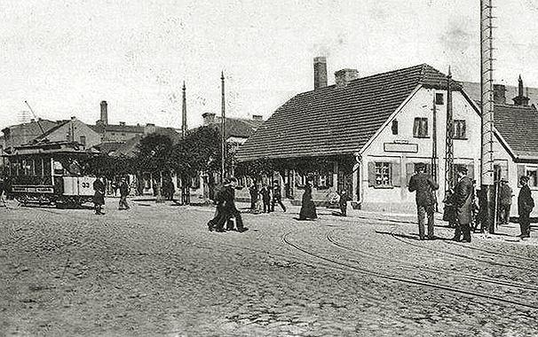 Piotrkowska / Główna około 1900r