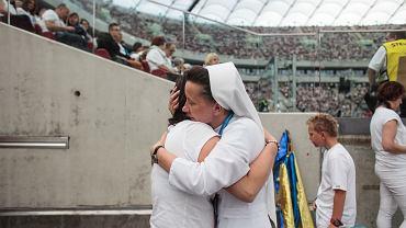 PGE Narodowy, piąta edycja rekolekcji 'Jezus na Stadionie'.