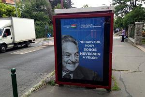 """Węgierski rząd bije w George'a Sorosa. Ruszyła nowa kampania """"informacyjna"""" przed wyborami parlamentarnymi"""