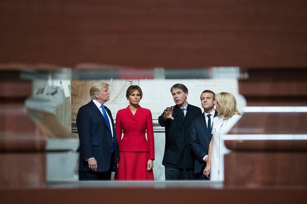 Wizyta Donalda Trumpa we Francji