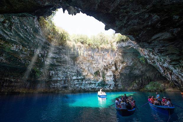 Jaskinia Melissani na Kefalonii