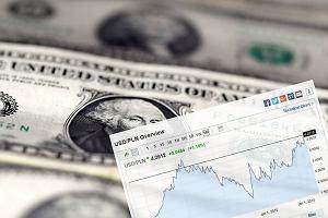 Dolar umacnia się wobec złotego