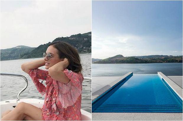 Zdjęcie numer 4 w galerii - Anna Wendzikowska chwali się zgrabną pupą w ekskluzywnym basenie.