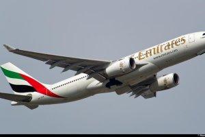 Luksusowe Emirates Airlines polec� z Ok�cia do Dubaju