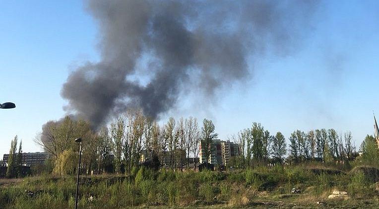 Pożar w Siemianowicach Śląskich