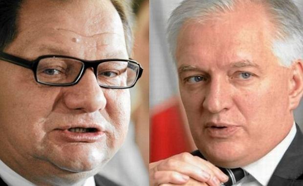 Ryszard Kalisz, Jaros�aw Gowin