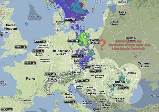 radar pogodowy szczecin