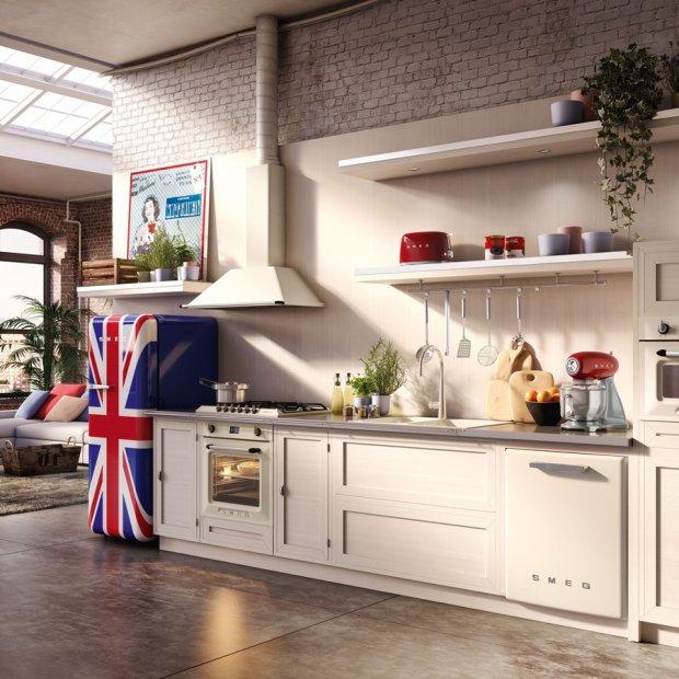 Jak urządzić kuchnię w stylu retro?  zdjęcie nr 5 -> Kuchnia Nowoczesna I Retro