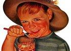 Dzieci strasz� ze starych reklam