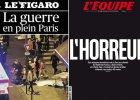 Ok�adki francuskich gazet