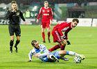I liga pi�karska: Wygrana Miedzi Legnica wywalczona w ostatniej akcji meczu