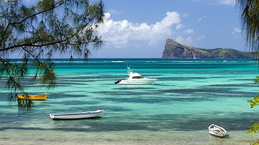 Mauritius słynie z przejrzyście czystych wód