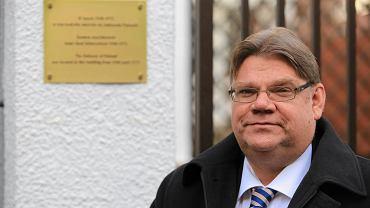 Timo Soini, przewodniczący Partii Prawdziwych Finów