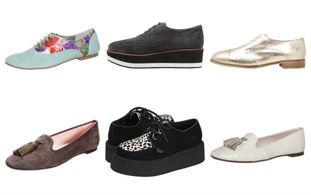 Damskie buty o zagadkowych nazwach - loafery, creepersy, oksfordki