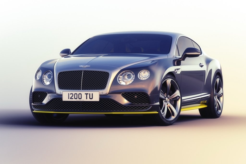 Bentley Continental GT Speed Breitling