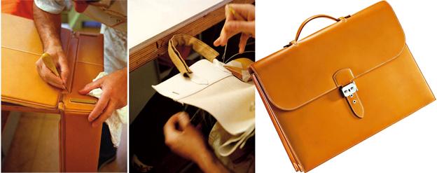 Logo z klasą: Hermes wysłannik bogów luksusu, moda męska, logo z klasą, Każdą torebkę czy teczkę, z których słynie francuski dom mody, od początku do końca wykonuje jeden rzemieślnik.