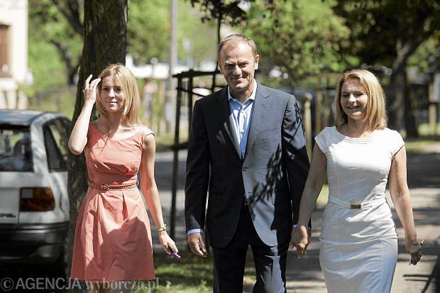Kasia Tusk, Donald Tusk, Małgorzata Tusk.