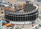 Rotunda powoli znika z Warszawy. Nowa będzie gotowa za dwa lata [ZDJĘCIA]