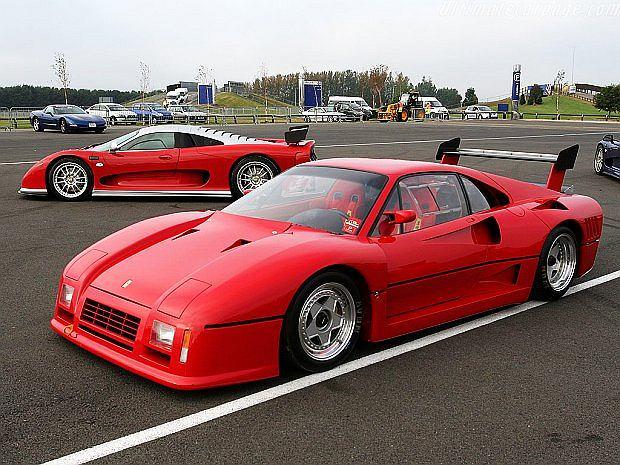 Tak wygląda wersja 288 GTO Evoluzione. Istnieją tylko trzy egzemplarze