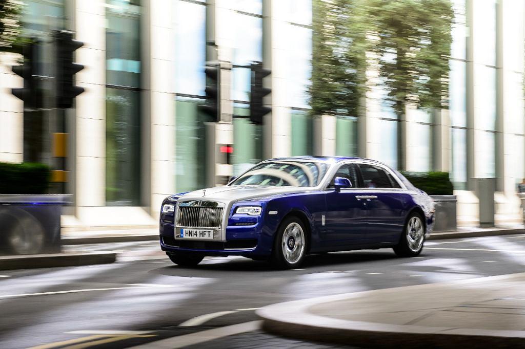 Rolls-Royce w Poznaniu