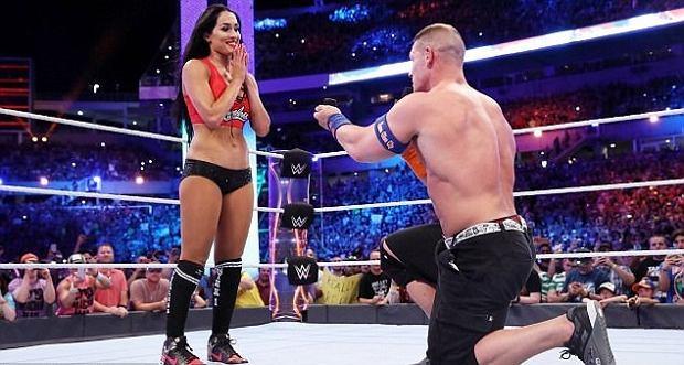 Zdjęcie numer 0 w galerii - John Cena oświadczył się na ringu. Zobaczcie, jak wygląda piękna i wysportowana przyszła żona mistrza wrestlingu