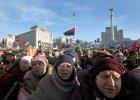 """Ukraina: 100 tysi�cy ludzi manifestuje w Kijowie. Opozycja og�osi�a powstanie ruchu """"Majdan"""""""