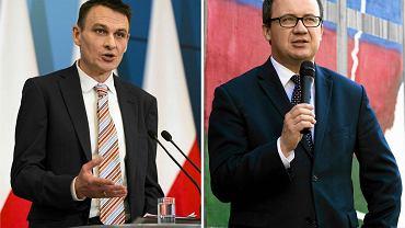 Pełnomocnik rządu  ds. równego traktowania Wojciech Kaczmarczyk i Rzecznik praw obywatelskich  Adam Bodnar